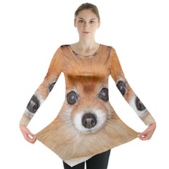 Pomeranian Long Sleeve Tunic