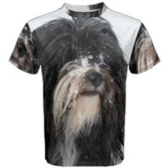 Tibet Terrier  Men s Cotton Tee
