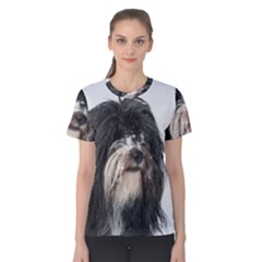 Tibet Terrier  Women s Cotton Tee