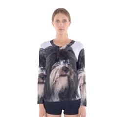 Tibet Terrier  Women s Long Sleeve Tee