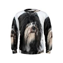 Tibet Terrier  Kids  Sweatshirt