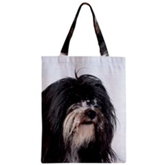 Tibet Terrier  Zipper Classic Tote Bag