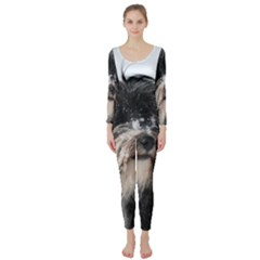 Tibet Terrier  Long Sleeve Catsuit