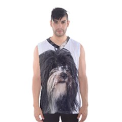 Tibet Terrier  Men s Basketball Tank Top