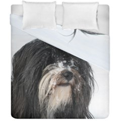 Tibet Terrier  Duvet Cover Double Side (California King Size)