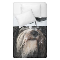 Tibet Terrier  Duvet Cover Double Side (Single Size)