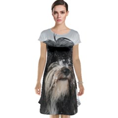 Tibet Terrier  Cap Sleeve Nightdress