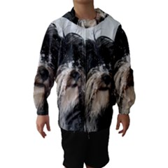 Tibet Terrier  Hooded Wind Breaker (Kids)