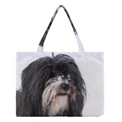 Tibet Terrier  Medium Tote Bag