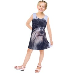 Tibet Terrier  Kids  Tunic Dress