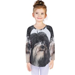 Tibet Terrier  Kids  Long Sleeve Tee