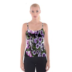 Flowers Blossom Bloom Plant Nature Spaghetti Strap Top