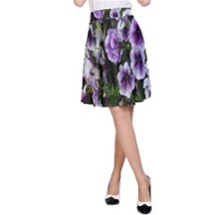 Flowers Blossom Bloom Plant Nature A-Line Skirt