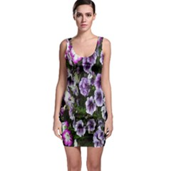Flowers Blossom Bloom Plant Nature Sleeveless Bodycon Dress
