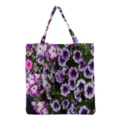 Flowers Blossom Bloom Plant Nature Grocery Tote Bag