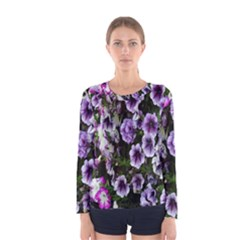 Flowers Blossom Bloom Plant Nature Women s Long Sleeve Tee