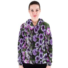 Flowers Blossom Bloom Plant Nature Women s Zipper Hoodie