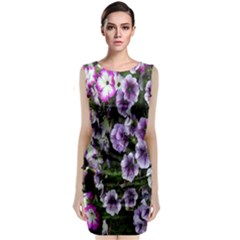 Flowers Blossom Bloom Plant Nature Classic Sleeveless Midi Dress