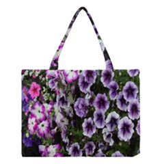 Flowers Blossom Bloom Plant Nature Medium Tote Bag
