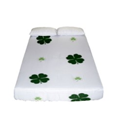 Green Leaf Fitted Sheet (full/ Double Size)
