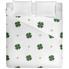 Green Leaf Duvet Cover Double Side (california King Size)