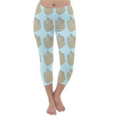 Kukang Animals Capri Winter Leggings