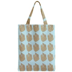 Kukang Animals Zipper Classic Tote Bag