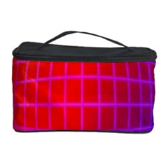 Grid Diamonds Figure Abstract Cosmetic Storage Case