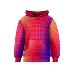 Grid Diamonds Figure Abstract Kids  Pullover Hoodie