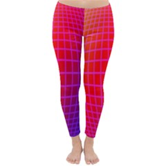Grid Diamonds Figure Abstract Classic Winter Leggings