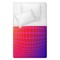 Grid Diamonds Figure Abstract Duvet Cover (Single Size)