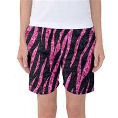 SKN3 BK-PK MARBLE Women s Basketball Shorts