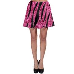 SKN3 BK-PK MARBLE (R) Skater Skirt