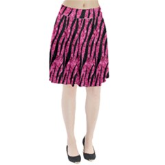 SKN3 BK-PK MARBLE (R) Pleated Skirt