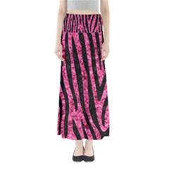 SKN4 BK-PK MARBLE Maxi Skirts