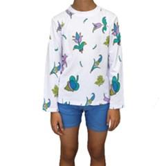 Leaf Kids  Long Sleeve Swimwear
