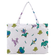 Leaf Medium Zipper Tote Bag