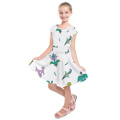 Leaf Kids  Short Sleeve Dress