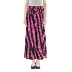 SKN4 BK-PK MARBLE (R) Maxi Skirts