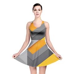 Marshmallow Yellow Reversible Skater Dress