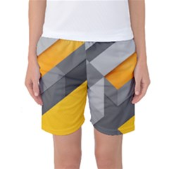 Marshmallow Yellow Women s Basketball Shorts