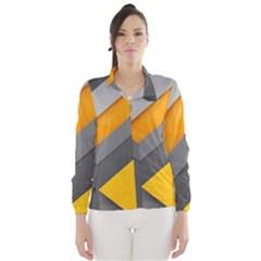 Marshmallow Yellow Wind Breaker (Women)