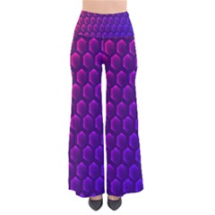 Outstanding Hexagon Blue Purple Pants