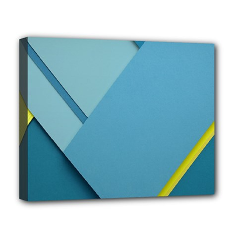 New Bok Blue Deluxe Canvas 20  x 16