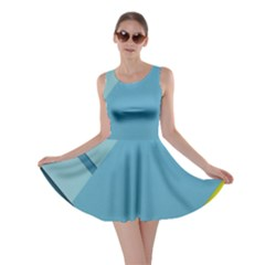 New Bok Blue Skater Dress