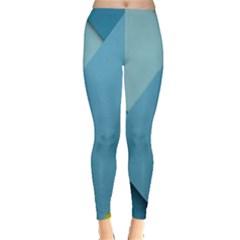 New Bok Blue Leggings