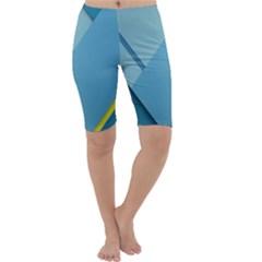 New Bok Blue Cropped Leggings
