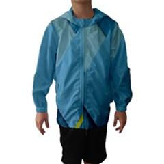 New Bok Blue Hooded Wind Breaker (Kids)