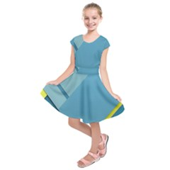New Bok Blue Kids  Short Sleeve Dress