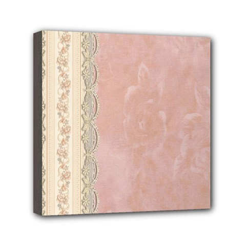 Guestbook Background Victorian Mini Canvas 6  x 6